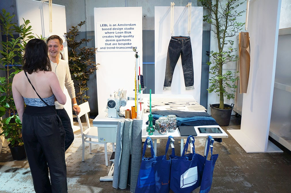 LEBL exhibit at the Mercedes-Benz Amsterdam Fashion Week July 2017