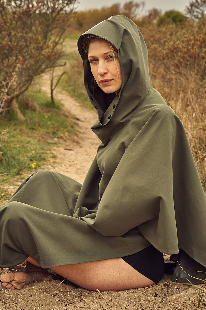 My favorite sustainable raincoats for the Dutch summer