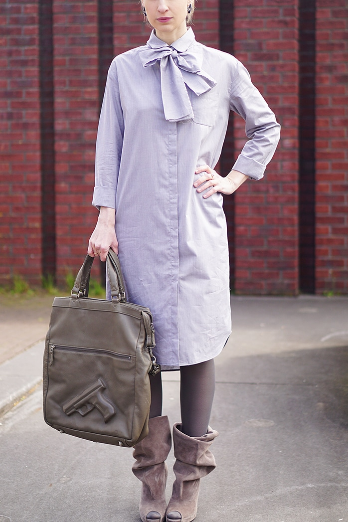5 ways to wear a shirtdress