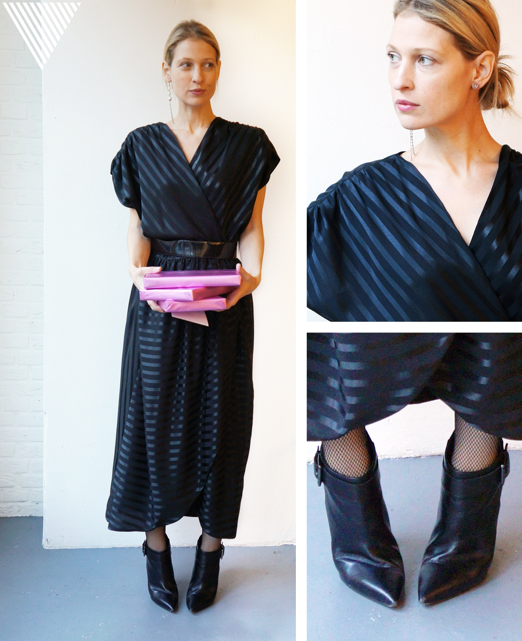 Sustainable party outfit 6: Restaurant and then a club after