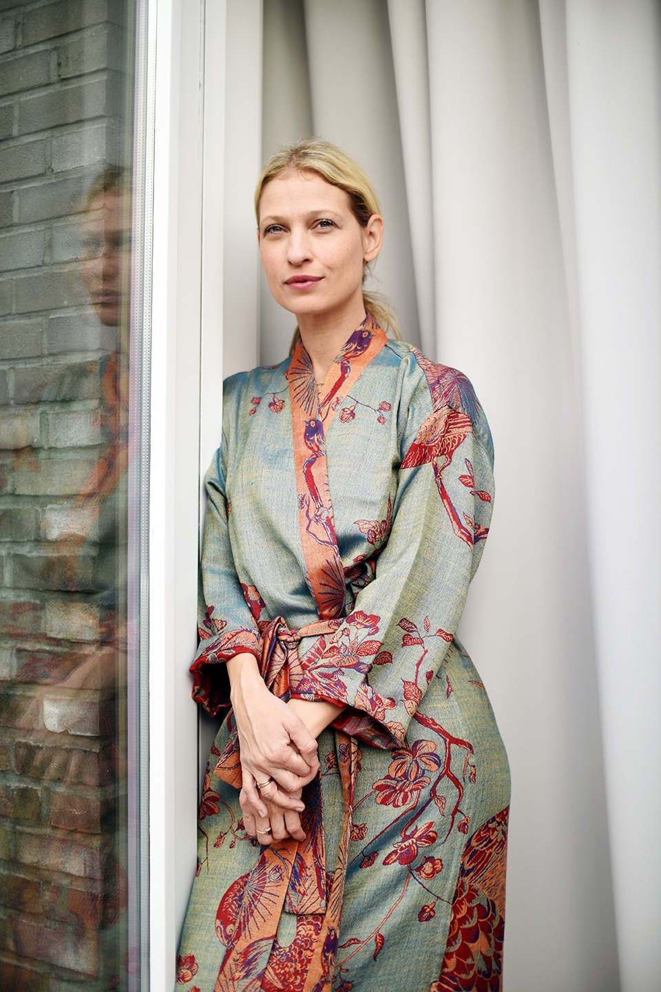 the prettiest dressing gown by shibumi