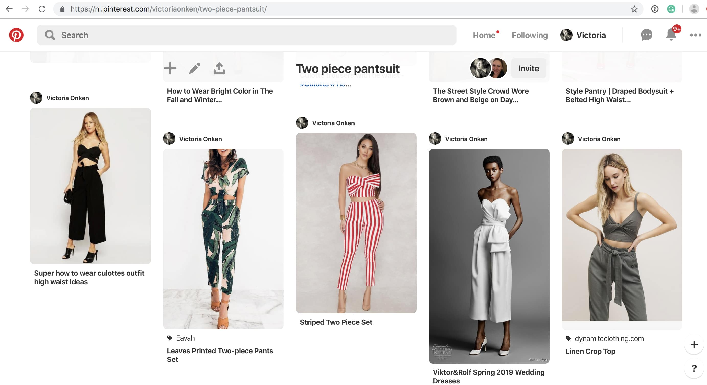Pinterest pant suit board