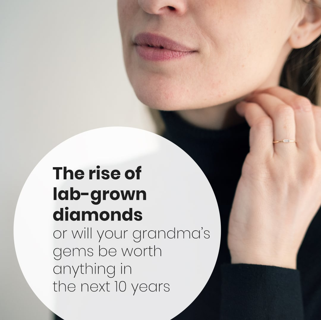 lab-grown vs mined diamonds