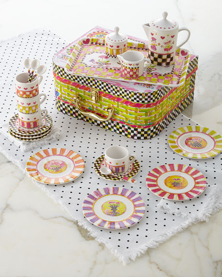 The Chicest Tea Set Ever
