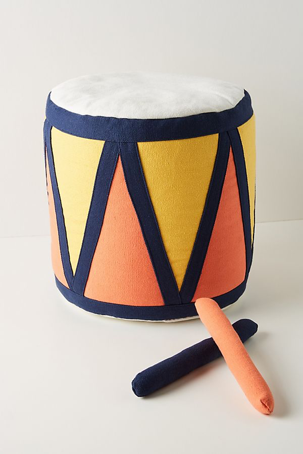 Cutest pouf for a playroom
