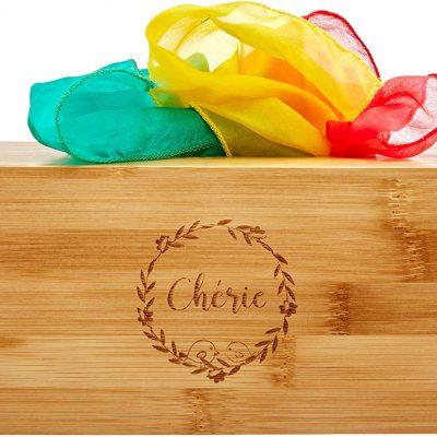 "Wood ""tissue"" Box"