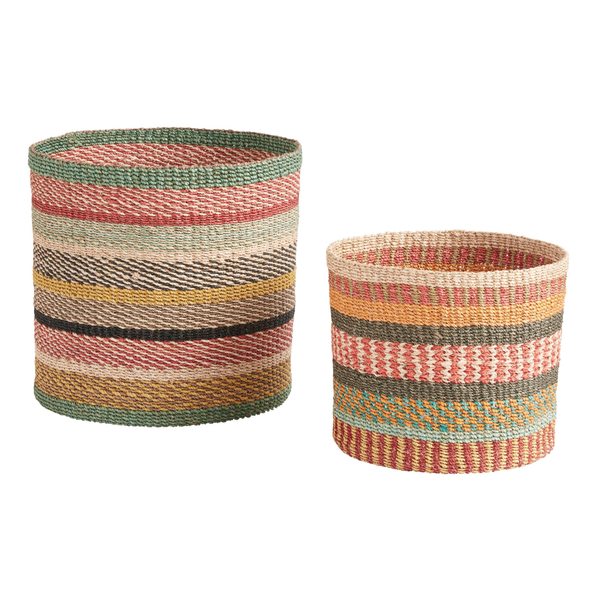 Pretty Baskets for Play