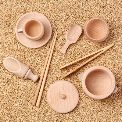 Wood Montessori Set