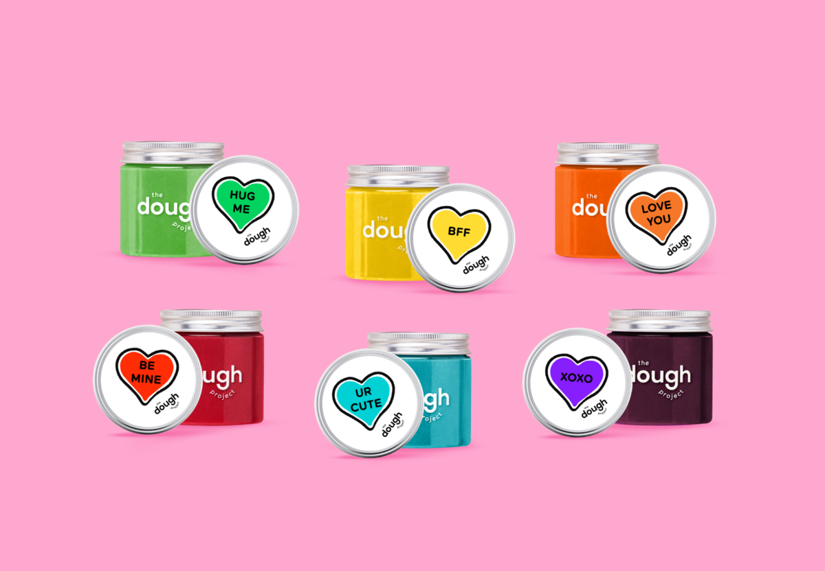 Rainbow Dough