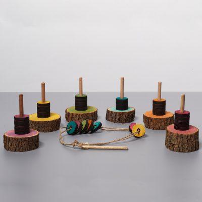 Rainbow Disc and Thread Set