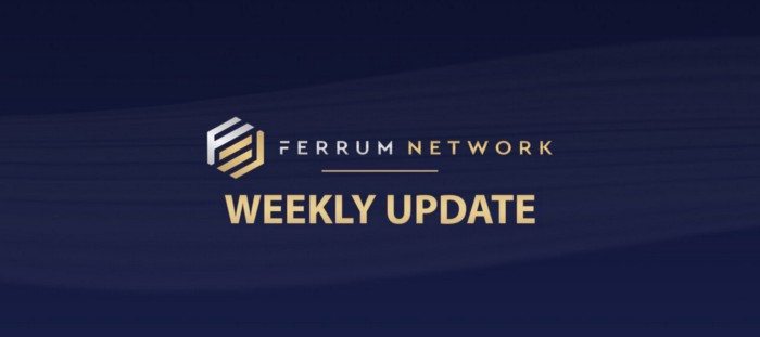 - 1 Vp7Br2UiF1NnOifOsCXiOQ - Ferrum Network Weekly Update — August 14, 2019