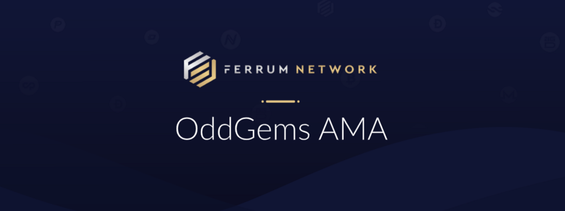 - 1 X1w v zJNWYm5aNGoeOs9Q 1132x423 - Here is a recap of the recent AMA conducted by OddGems with our COO Ian Friend for those of you…