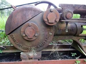 Danger, Gedye and Mallock 'Nevertire' pump. Photograph Ian Hoskins 2016