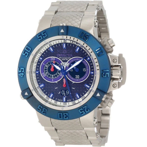 2a4d590d5 Invicta 10193 Men's Subaqua Noma III Stainless Steel Bracelet Chronograph  Watch