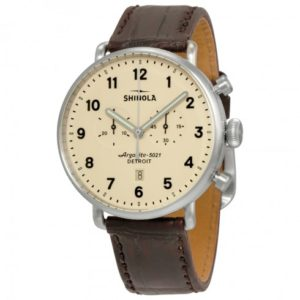 shinola watch battery replacement