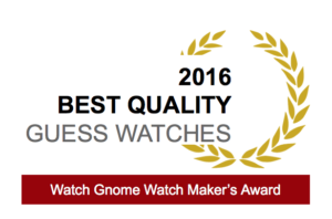 guess watch award
