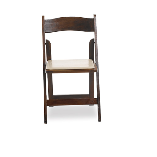 Folding Chair Walnut Wood Premiere Party Rents