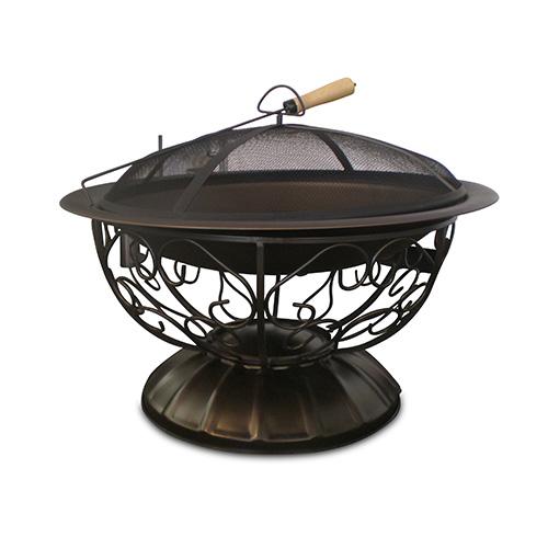bronze firepit, premiere party rents