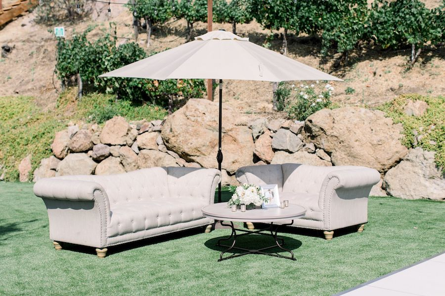 premiere party rents, romantic tuscan wedding, tuscan wedding, cielo farms, malibu wedding, jenny quicksall, wedding rentals, rentals, outdoor wedding