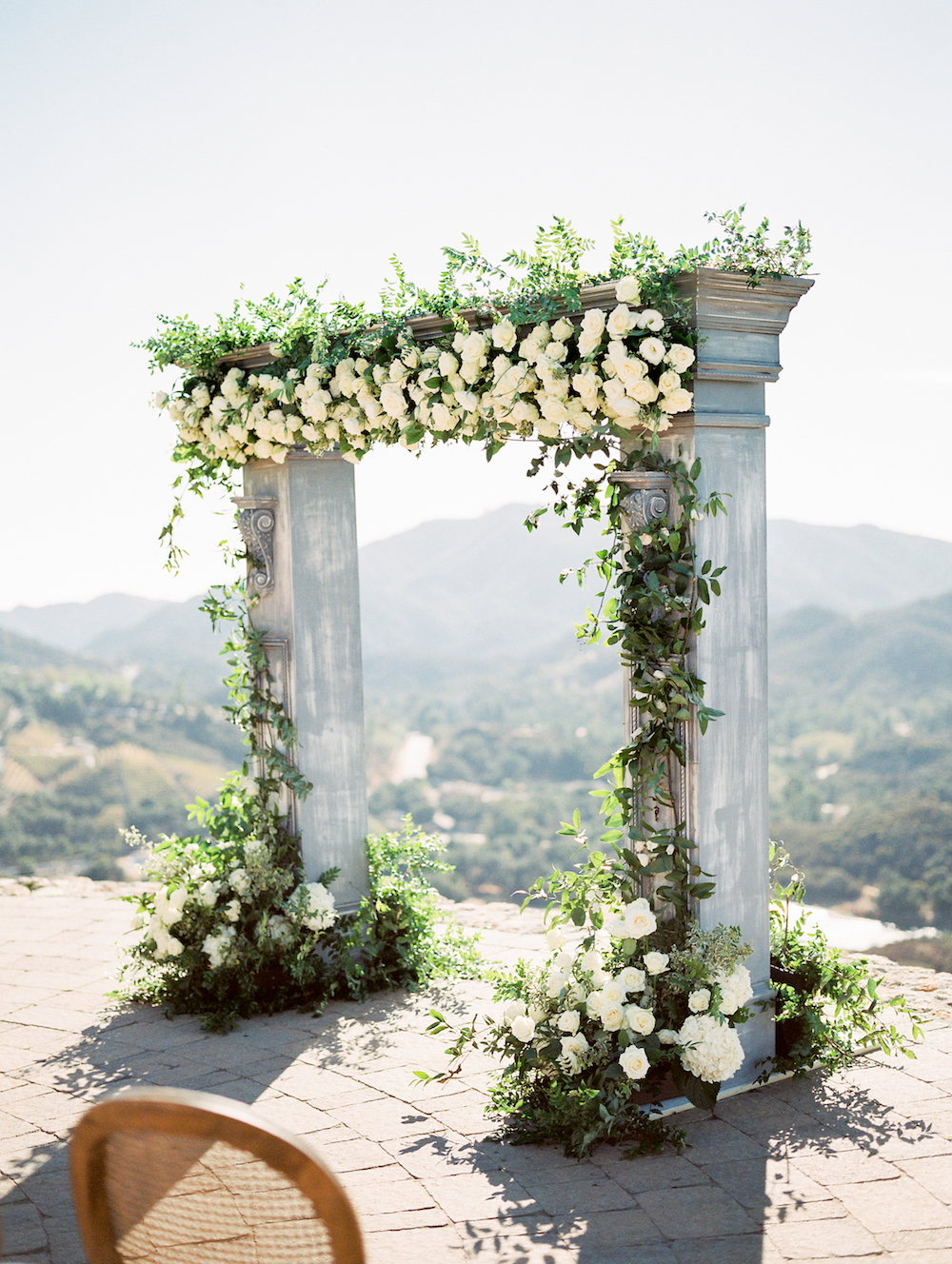 Rustic Elegant Outdoor Malibu Wedding