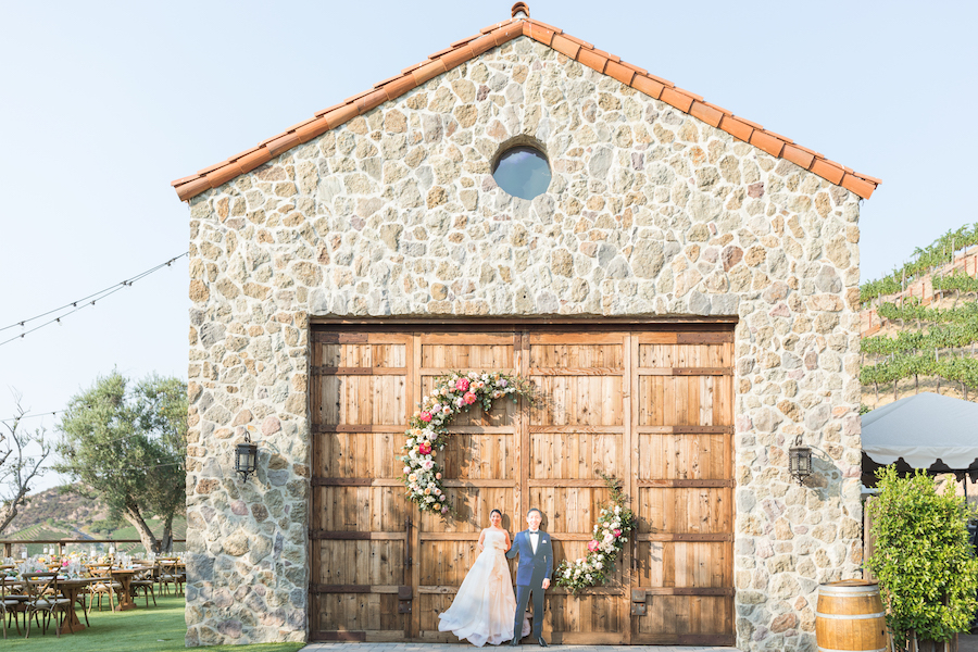 Vibrant Cielo Farms Wedding Celebration