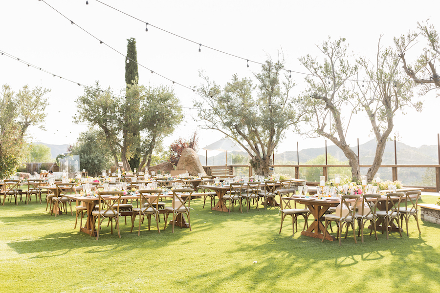 Vibrant Cielo Farms Wedding Celebration, cielo farms wedding, malibu wedding, party rentals, malibu rentals, wedding rentals