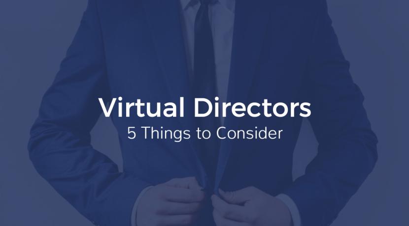 virtual directors