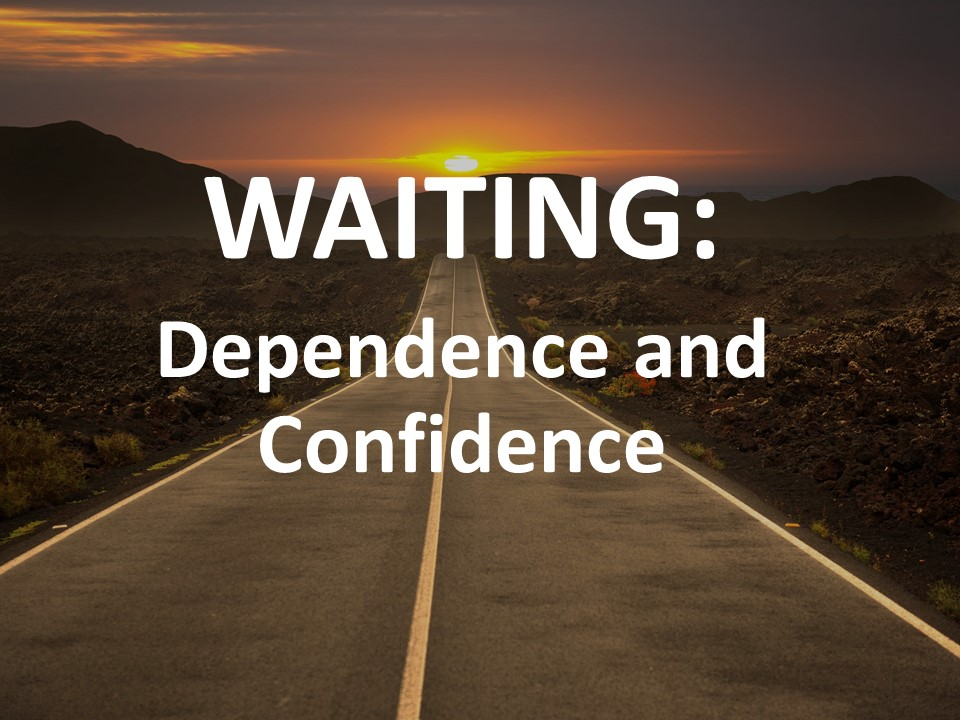 Waiting: Dependence and Confidence Image