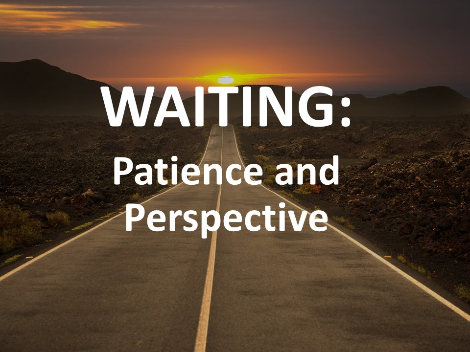 Waiting: Patience and Perspective Image