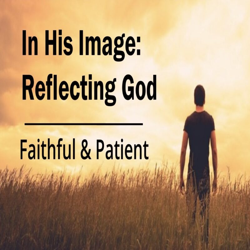 In His Image: Faithful & Patient Image
