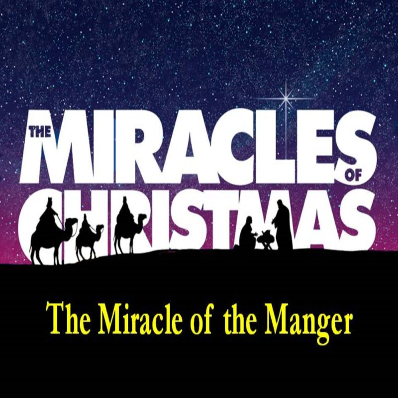 The Miracles of Christmas: The Manger Image
