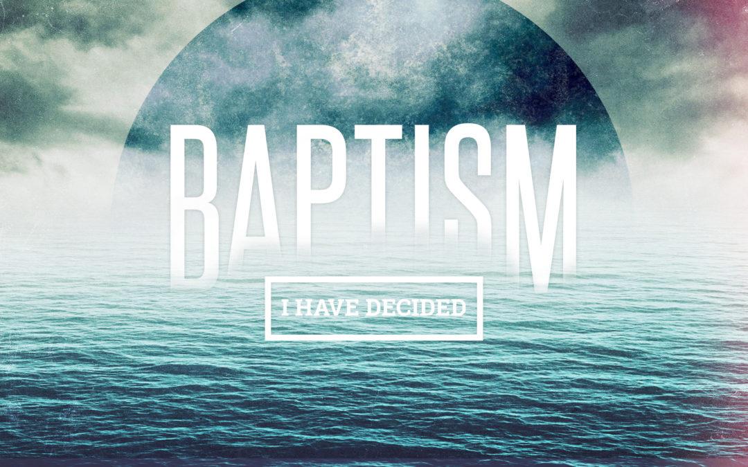 Baptism Service June 24, 2018