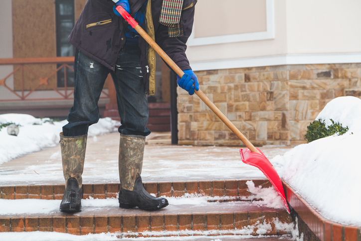 Injuries Can Occur When Homeowners and Businesses Fail to Shovel Snow
