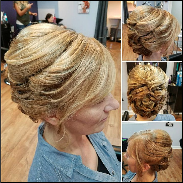 A-Capella-Salon Updo