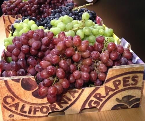 California Grapes- various
