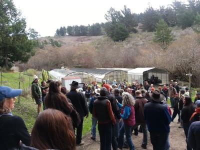 Eco-Farm tour 2013 at Jacobs Farm