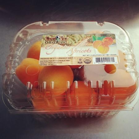 Patterson apricots