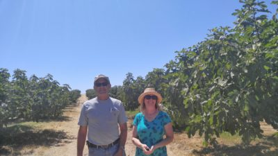 Bob Steinacher, Maywood Farms and Susan Simitz, Marketing Manager, Earl's Organic