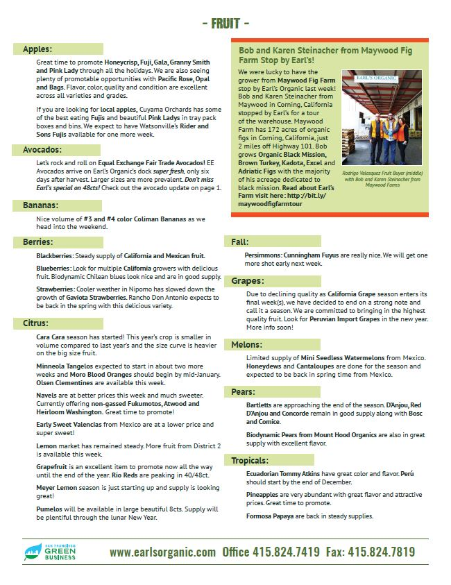 Buyer's Notes December 11 Page 2