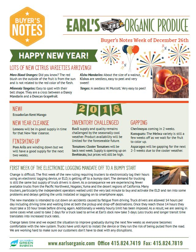 Buyers Notes December 26 page 1