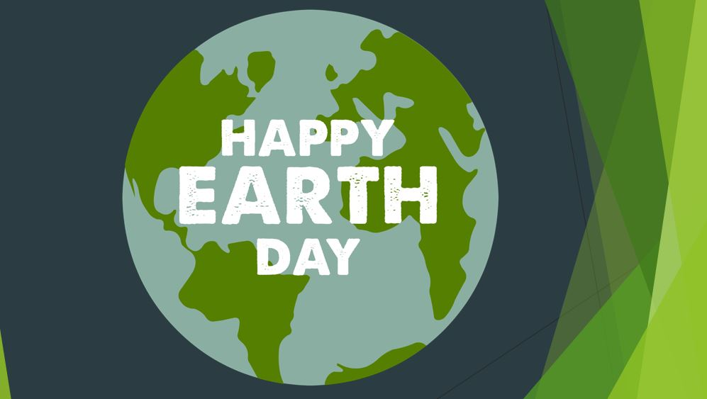Happy Earth Day Sign