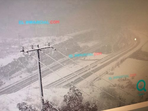 Live Cam Mexican border at Nogales closed due to snow Feb 22, 2019 11am