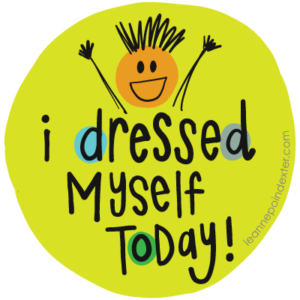 I dressed myself today stickers by LeAnne Poindexter