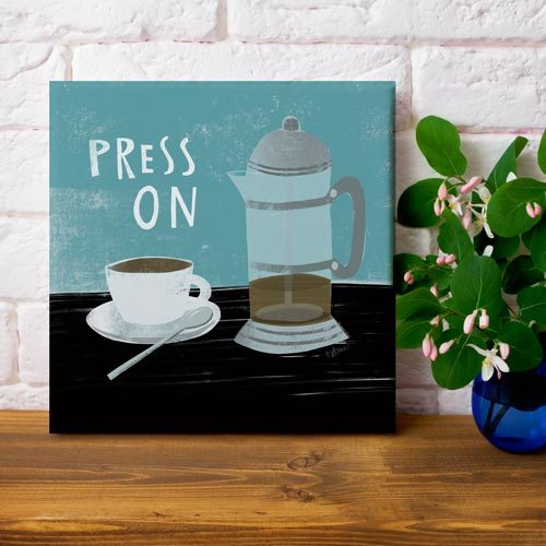 Press On art on canvas by LeAnne Poindexter
