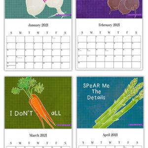 2021 Calendar Mockup - LeAnne Poindexter Designs