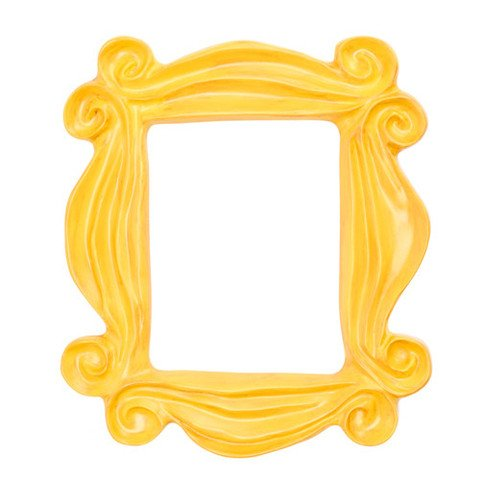 Yellow Peephole Frame – Friends