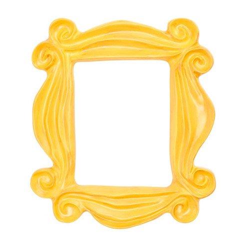 Yellow Peephole Frame – Friends