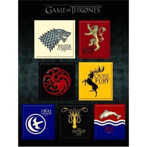 Game of Thrones House Sigil Magnet Set