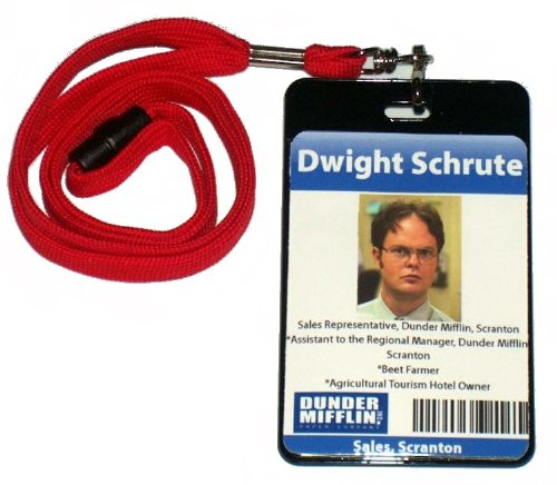 Dwight Schrute ID Badge