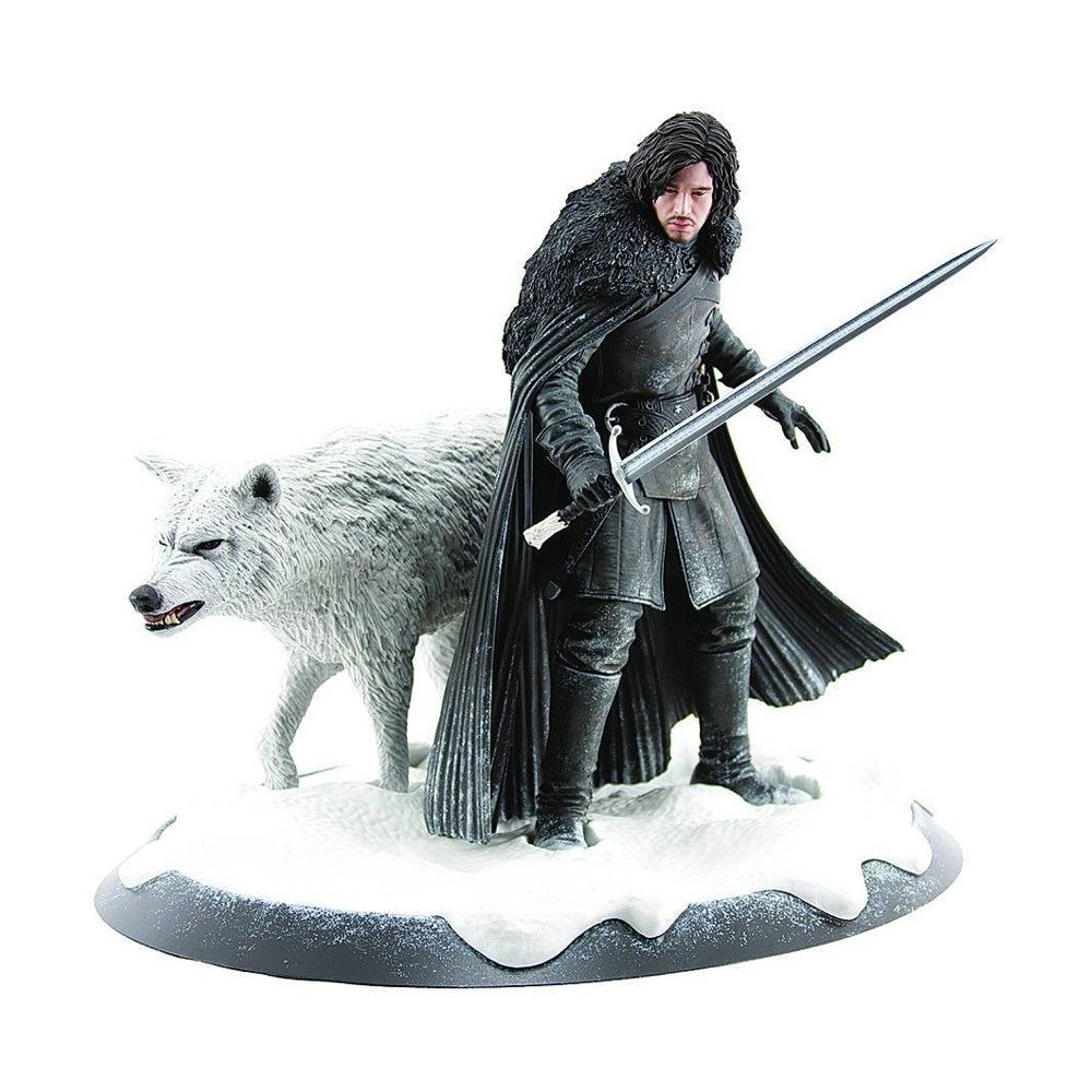 Jon Snow and Ghost Statue – Game Of Thrones